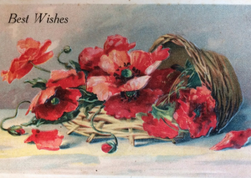 poppies basket