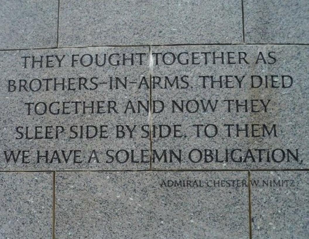 Nimitz quote