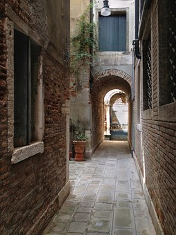 Venice narrow calle