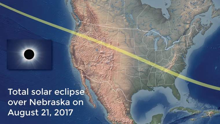 map of Aug. 2017 eclipse
