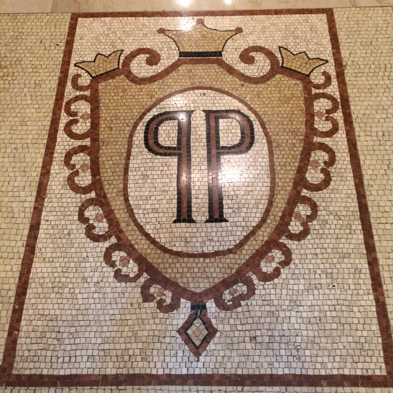 Plaza PP mosaic