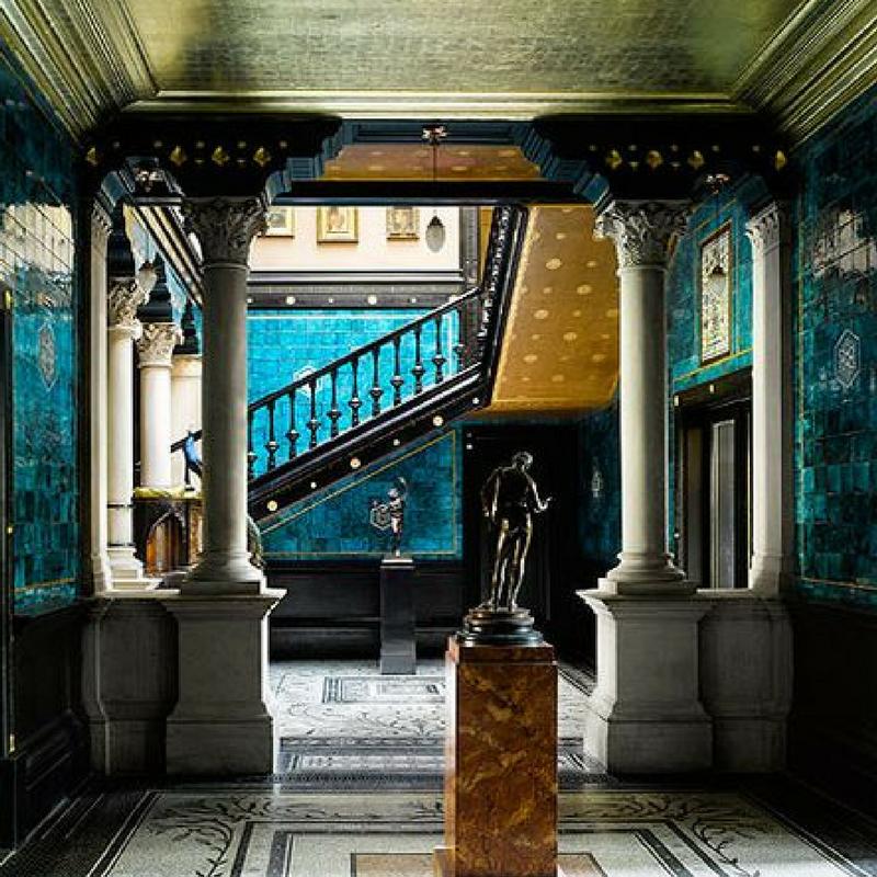Leighton House tiles