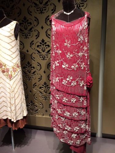 crop rose dress