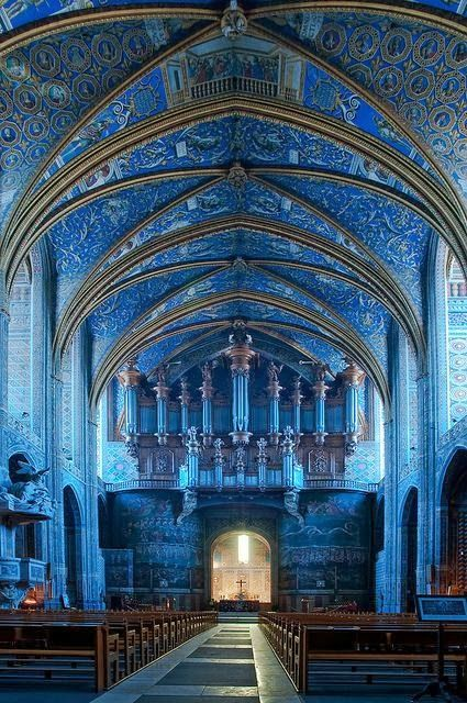 blue cathedral rectangle