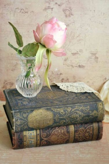 books and flowers 9