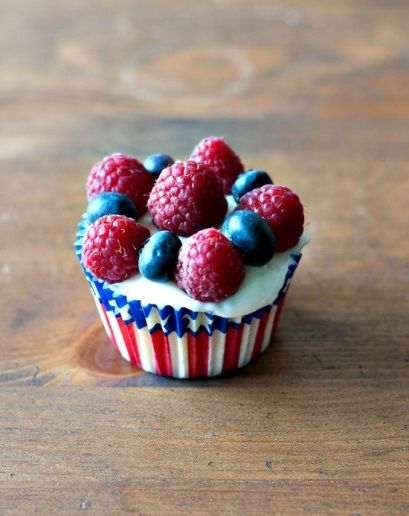 July 4th cupcakes 2