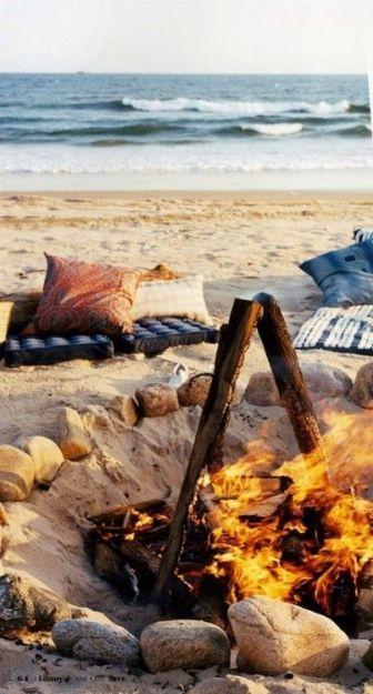 beach fire pit