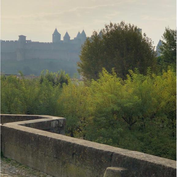 Carcassonne distance