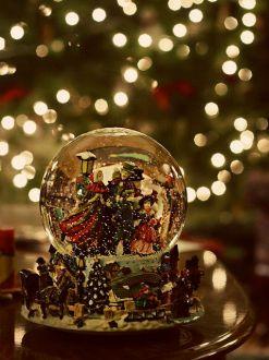 Cx snow globe