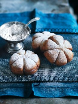 snowflack cookies