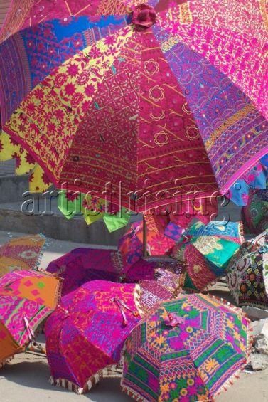 color parasols