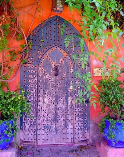 doorway morrocco
