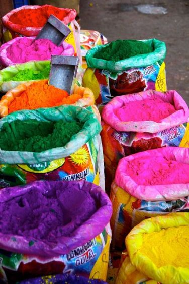 pigment bags