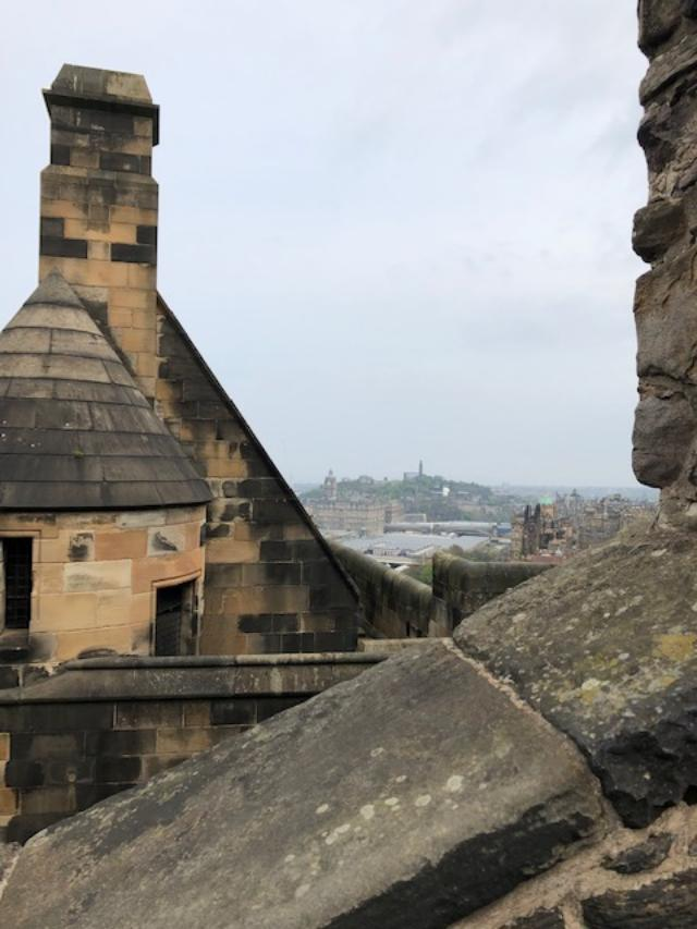 Calton Hill from castle