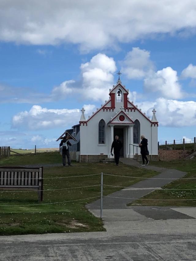 Orkney Italian chapel
