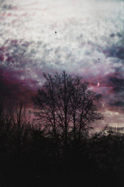 U sunset sky